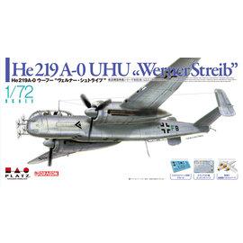 """Platz Hobby Platz - Heinkel He 219 A-0 """"Uhu"""" Werner Streib - 1:72"""