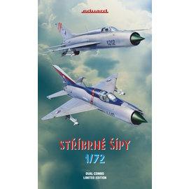 """Eduard Eduard - MiG-21 PF / PFM """"Stříbrné šípy"""" Limited Edition / Dual Combo - 1:72"""