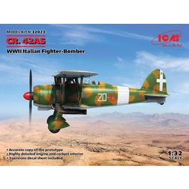 ICM ICM - Fiat CR.42AS - Italian Fighter Bomber - 1:32