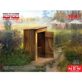 ICM ICM - Field Toilet / Feld-Toilette - 1:35