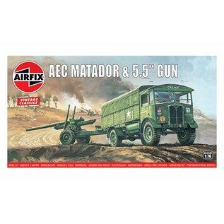 Airfix AEC Matador & 5.5inch Gun - 1:76