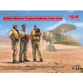 ICM ICM - British Pilots in Tropical Uniform (1939-1943) - 1:32