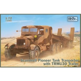 IBG Models IBG - Scammell Pioneer Tank Transporter with TRCU30 trailer - 1:72