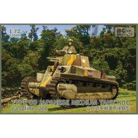 IBG Models IBG - Type 89 Japanese Medium Tank Kou gasoline late - 1:72