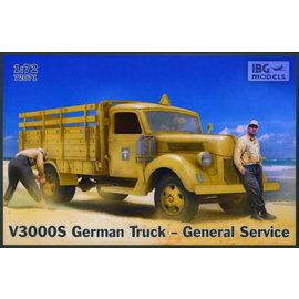 IBG Models IBG - V3000S German Truck – General Service - 1:72