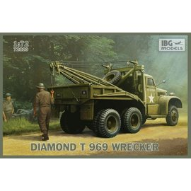 IBG Models IBG - Diamond T 969 Wrecker - 1:72