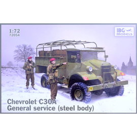 IBG Models IBG - Chevrolet C30A General Service (steel body) - 1:72