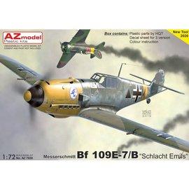 AZ Model AZ Model - Messerschmitt Bf109E-7/B - 1:72
