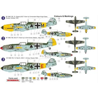 AZ Model Messerschmitt Bf109E-7/B - 1:72