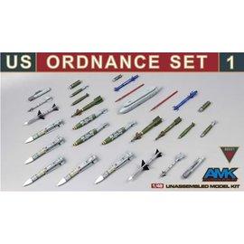 AMK - Avantgarde Model Kits AMK - U.S. Ordnance Set 1 - 1:48