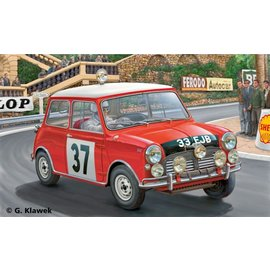 Revell Revell - Mini Cooper Rallye (Monte Carlo) - 1:24