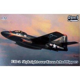 Sword Sword - F3D-2 Skyknight over Korea & Red Rippers - 1:72