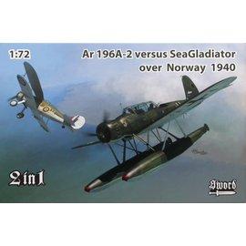 Sword Sword - Arado Ar 196A-2 vs. Gloster Sea Gladiator over Norway 1940 - 1:72