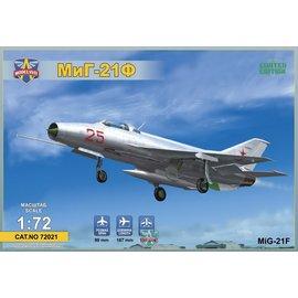 """Modelsvit Modelsvit - MiG-21F (Izdeliye """"72"""") Soviet supersonic fighter - 1:72"""
