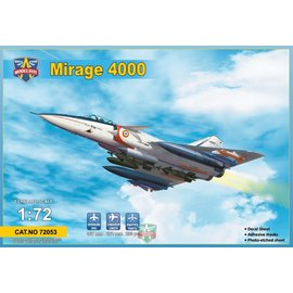Modelsvit Modelsvit - Dassault Mirage 4000 (upgraded version) - 1:72