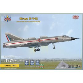 Modelsvit Modelsvit - Dassault Mirage III V-02 Fastest VTOL ever - 1:72
