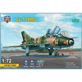 Modelsvit Modelsvit - Sukhoi Su-17UM3 advanced two-seat trainer - 1:72