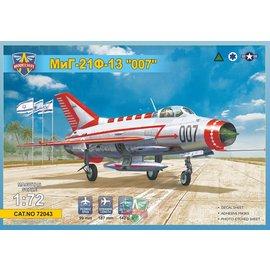 """Modelsvit Modelsvit - MiG-21 F-13 """"007"""" - 1:72"""