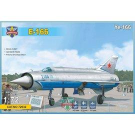 Modelsvit Modelsvit - Ye-166 Heavy experimental interceptor - 1:72
