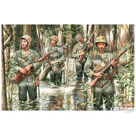 Master Box Master Box - U.S. Marines in Jungle WWII era - 1:35
