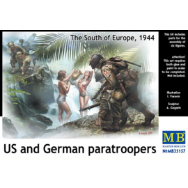 Master Box Master Box - US and German paratroopers. The South of Europe, 1944