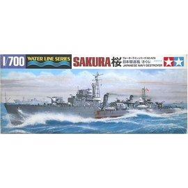 TAMIYA Tamiya - Jap. Zerstörer Sakura - Waterline No. 429 - 1:700