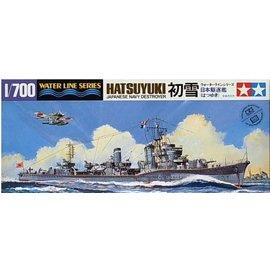 TAMIYA Tamiya - Jap. Zerstörer Hatsuyuki - Waterline No. 404 - 1:700