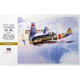 Hasegawa Hasegawa - Nakajima Ki84 Type 4 Fighter Hayate (Frank) - 1:32