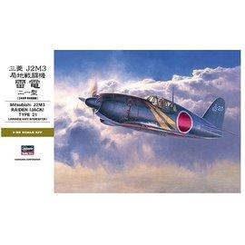 Hasegawa Hasegawa - Mitsubishi J2M3 Raiden (Jack) Type 21 - 1:32