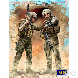 Master Box Master Box -  Our route has been changed! Modern War Series, kit No.1 - 1:24