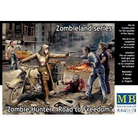 Master Box Master Box - Zombie Hunter-Road to Freedom. Zombieland series - 1:35