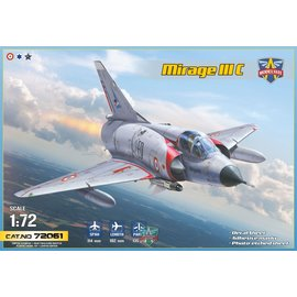 Modelsvit Modelsvit - Dassault Mirage IIIC all-weather interceptor - 1:72
