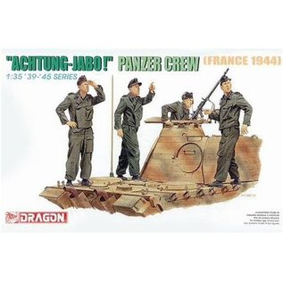 "Dragon ""Achtung Jabo"" Panzer Crew (France 1944) - 1:35"
