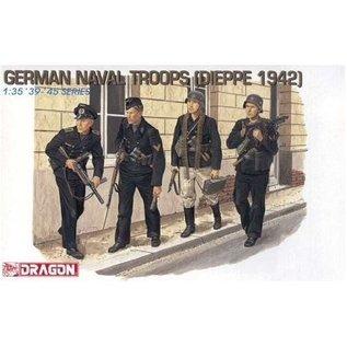 Dragon German Naval Troops (Dieppe 1942) - 1:35