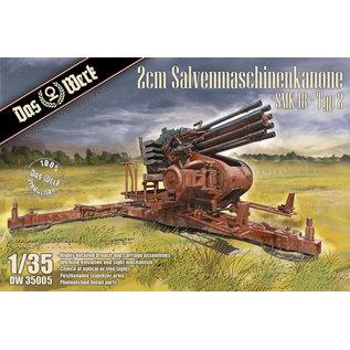 Das Werk 2cm Salvenmaschinenkanone SMK 18 - Type 2 - 1:35