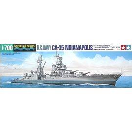 TAMIYA Tamiya - schw. Kreuzer CA-35 USS Indianapolis - Waterline No. 804 - 1:700