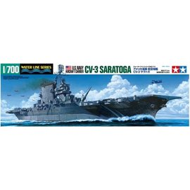 TAMIYA Tamiya - Flugzeugträger CV-3 USS Saratoga - Waterline No. 713 - 1:700