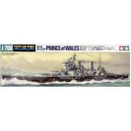TAMIYA Tamiya - HMS Prince of Wales - Battle of Malaya - Waterline No. 615 - 1:700