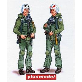 Plusmodel Plusmodel - F-4 Phantom Crew - 1:48