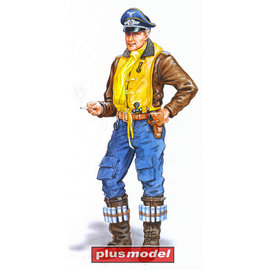 Plusmodel Plusmodel - Bf109 Pilot - 1:48
