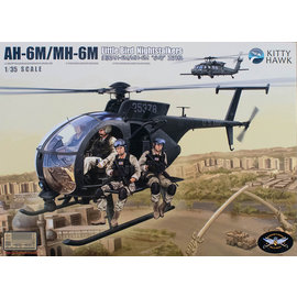 Kitty Hawk Kitty Hawk - Boeing  (Hughes) AH-6M / MH-6M Little Bird - w/figures - 1:35