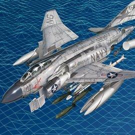 "Academy Academy - McDonnell Douglas F-4J Phantom II - VF-96 ""Showtime 100"" - 1:72"