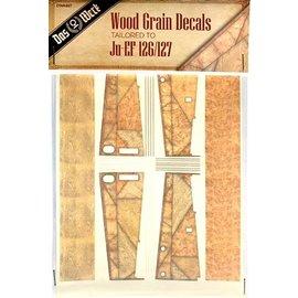 Das Werk Das Werk - Wood Grain Decals für Ju EF 126/127 - 1:32