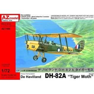 "AZ Model DeHavilland DH 82A ""Tiger Moth"" - 1:72"