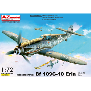AZ Model AZ Model - Messerschmitt Bf 109G-10 Erla early - 1:72