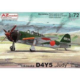 """AZ Model AZ Model - Yokosuka D4Y5 """"Judy"""" - 1:72"""