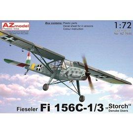 "AZ Model AZ Model - Fieseler Fi 156C Storch ""Danube User"" - 1:72"