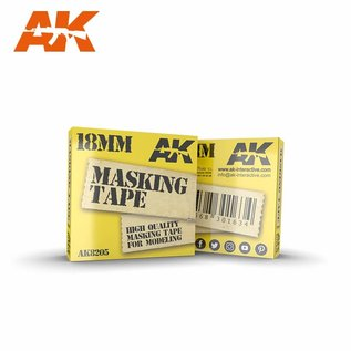 AK Interactive  Masking tape 18mm / Maskierband 18mm