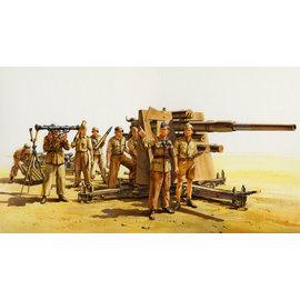 TAMIYA Tamiya - Dt. 88mm Flak36 Nord Afrika (8) -1:35