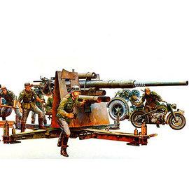 TAMIYA Tamiya - Dt. Flak 8,8 m. Motorrad - 1:35
